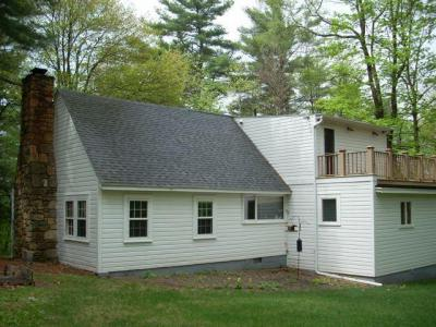 Berkshires House, 40 Wooded Acres, Lake Frontage, Vacation Home Rental Monterey, MA