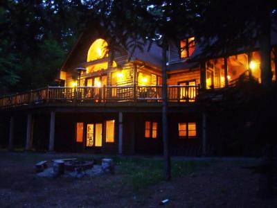 White Tail Run: Lake Placid/Saranac Lake Log Home - Lake Placid, NY Adirondacks