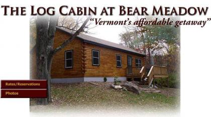 Vermont Log Cabin Available For Weekend And Weekly - Guilford, VT - Southern