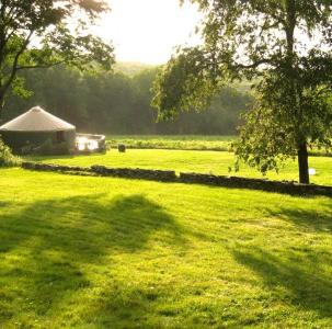 Beautiful Solar-Powered Yurt At The Sanctuary - East Haddam, CT - River Valley