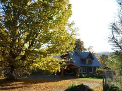 HICKORY RIDGE VERMONT LOG CABIN - Rupert, VT - Green Mountains VT Vacation Rental