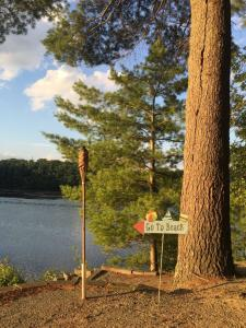 Beautiful Lakefront Home With Private Beach - Shrewsbury, MA - Central MA Vacation Rental