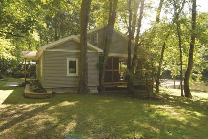 Private Creek Frontage w/ Hot Tub - Mifflinburg, PA - Allegheny Mountains & Valleys PA Vacation Rent