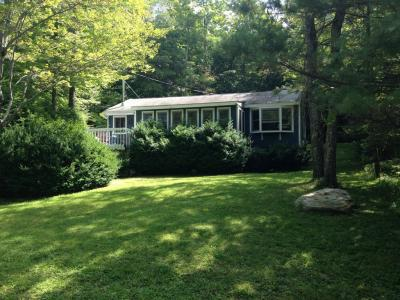 Bright, Cozy Berkshire Cottage Across From Pristine Lake - Otis, MA - Berkshires MA Vacation Rental