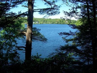 OTIS -- Waterfront On Big Pond And Benton Pond Plus 43 Acres Of Private Trails - Otis, MA - Berkshir
