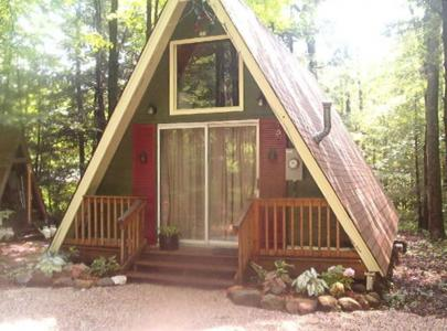 A-Frame In Sherwood Forest - Becket, MA - Berkshires MA Vacation Rental