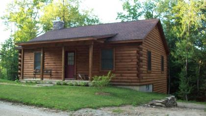 Ashmere Lake Log Cabin With Privacy/2 Bedrooms - Hinsdale, MA - Berkshires MA Vacation Rental