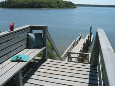Cape Cod Waterfront Vacation Home Dock And 2 Kayaks: Mashpee Neck, Mashpee, MA - Upper Cape Cod MA V