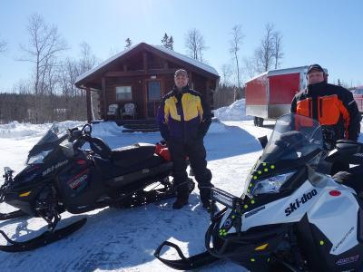 Cabin #1 - Pond Brook Cabins - Eagle Lake, Maine Aroostook County